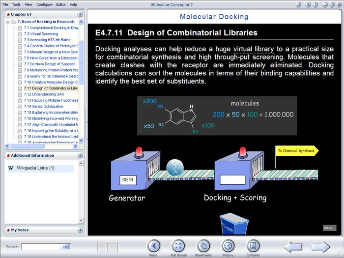 Molecular Conceptor Learning Series